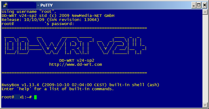 SSH everything: SSH and DD-WRT